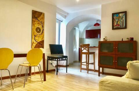 Appartement 2 pièces 50 m2 rénové centre village