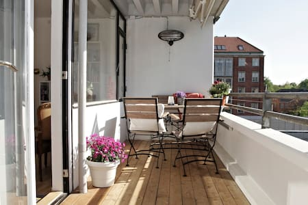 Central apartment with big balcony