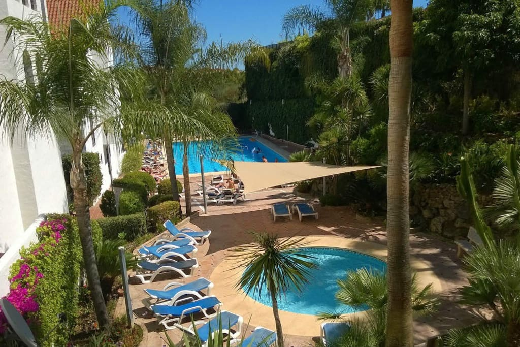 Tropical gardens and family pools