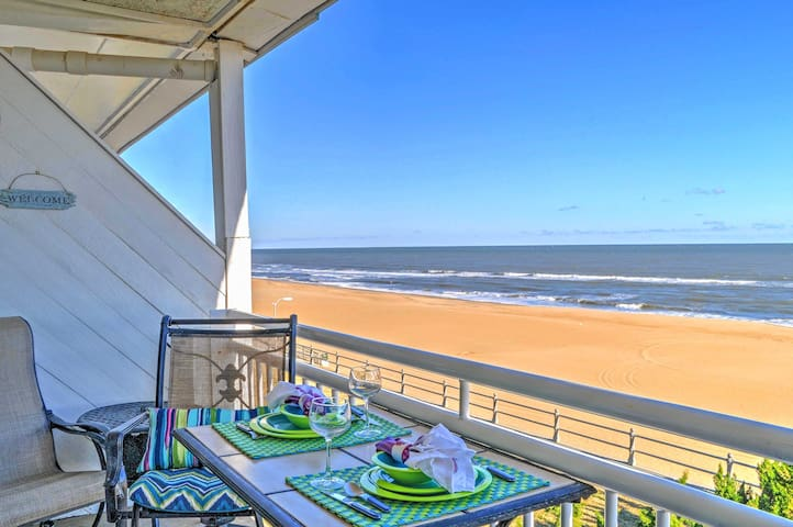 Oceanfront Virginia Beach Studio w/ Community Pool