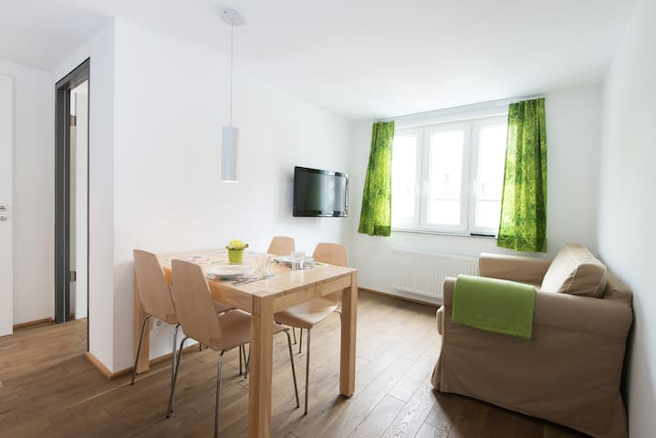 Townhouse in Historic City Centre Stadtwohnung - Ravensburg - Apartament