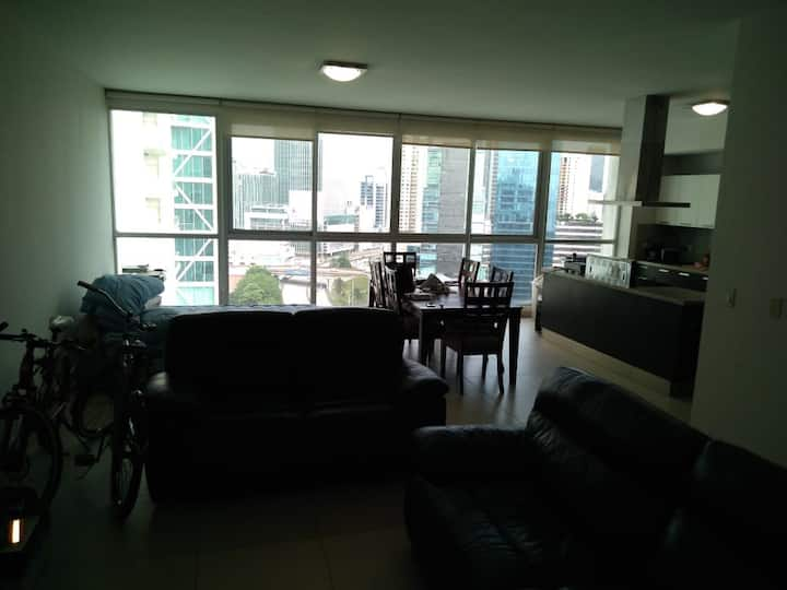 Great one bedroom condo with city view