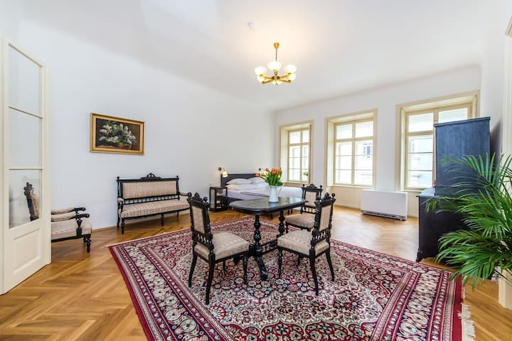 Antique Prague Castle Apartment