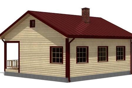 Дом на общей территории с котедждом - Астана - Дом
