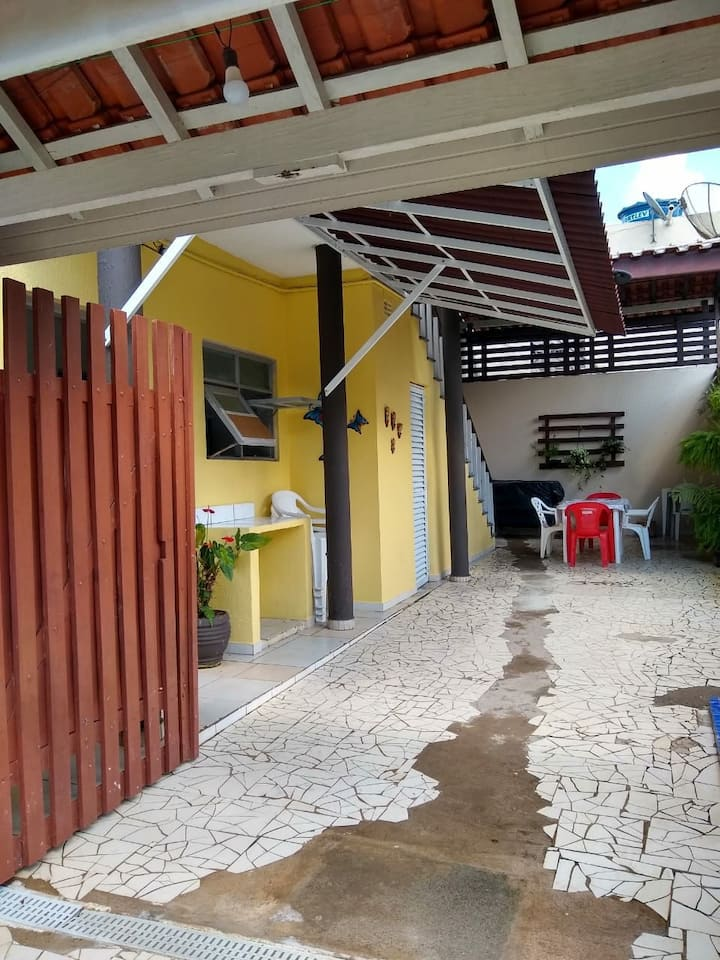 Casa de Praia e temporada da lu