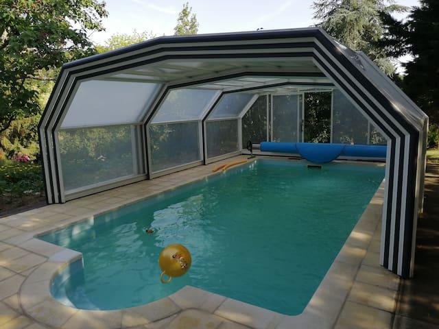 Villa de charme à 5 mn d'Amboise