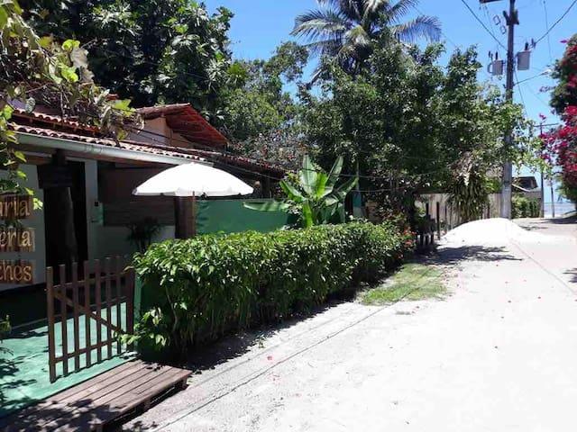 Casa Videira-ótima localização, 1min a pé da praia