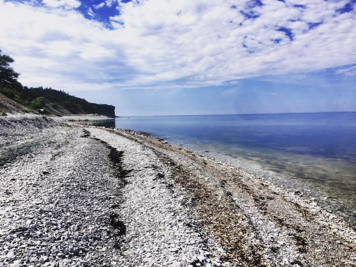Close to the sea and Visby, Gotland