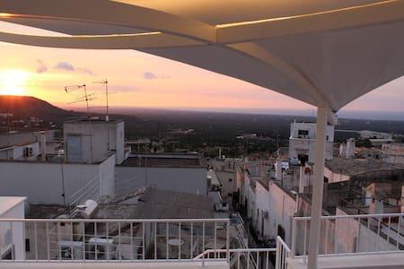 Retrò House in Ostuni Puglia with sea view terrace