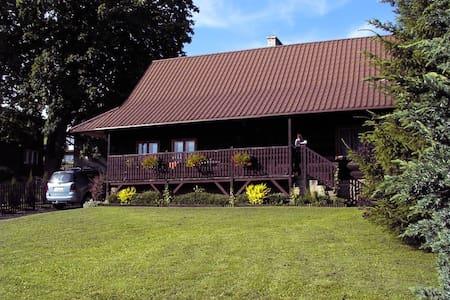 Zabytkowy dom górali wałaskich w Istebnej - Istebna - Hus