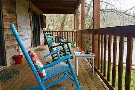 Rustic BNB on the Little River - Townsend
