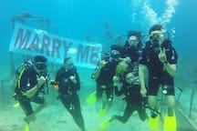 Successful marriage proposal!