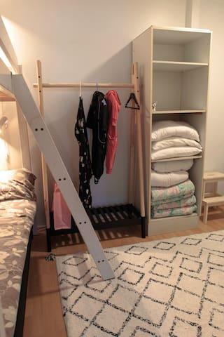 Makuuhuone // Bedroom
