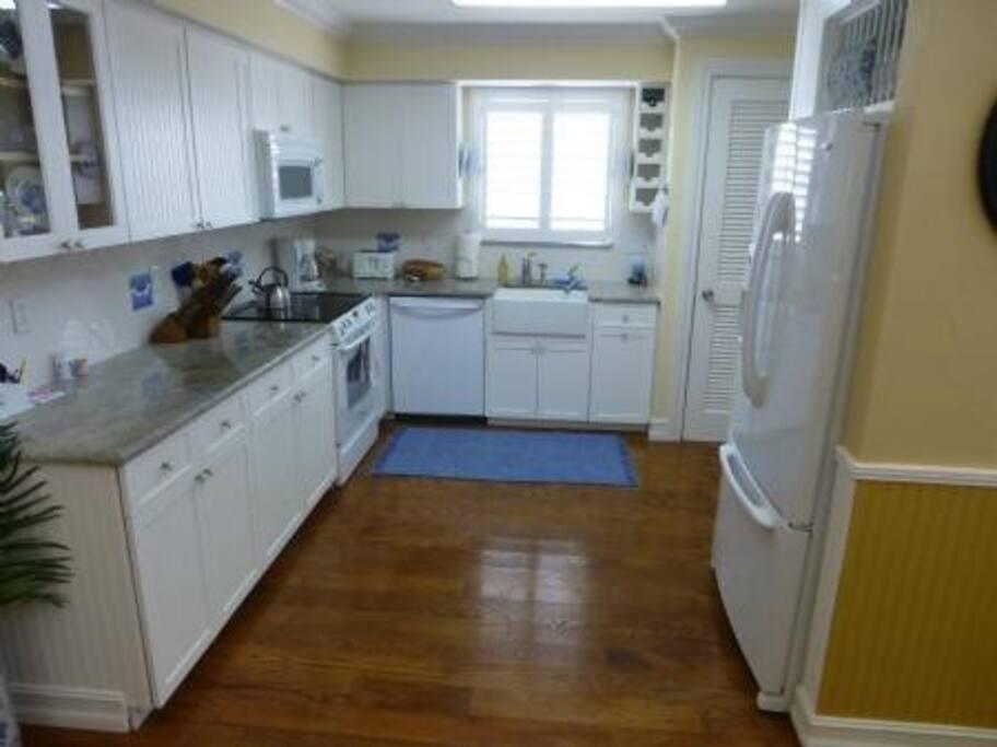 Kitchen Area with Granite Cou