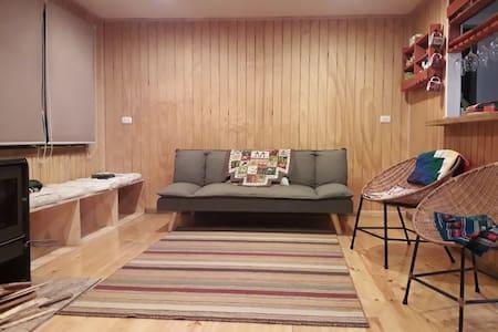Habitación con litera en casa acogedora céntrica