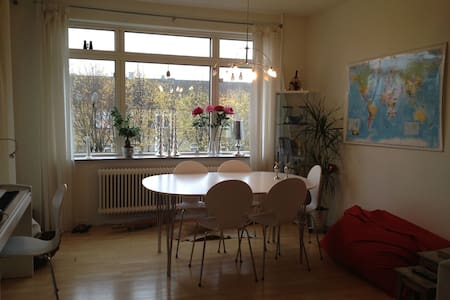 Cosy apartment with sunny balcony, near S-train - Søborg