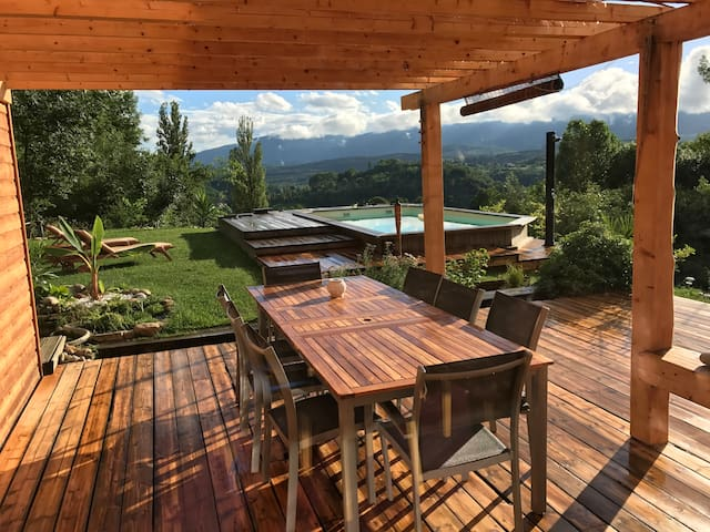 Wooden House in countryside,close to all amenities