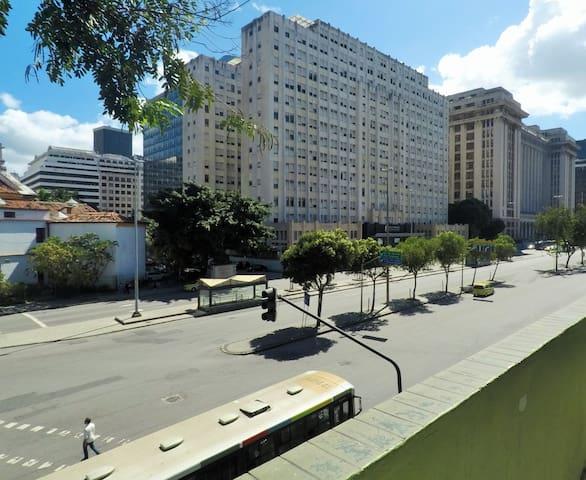 Quarto centro do Rio para 3 pessoas