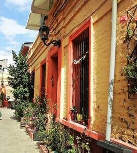 Habitación Privada en Casa Barrio Matta Sur - Santiago