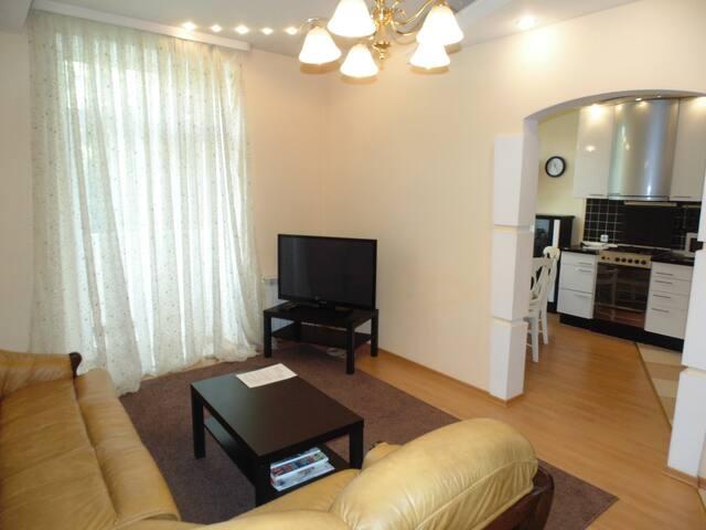 Уютные апартаменты в центре с 3-я спальнями - Minsk - Appartement