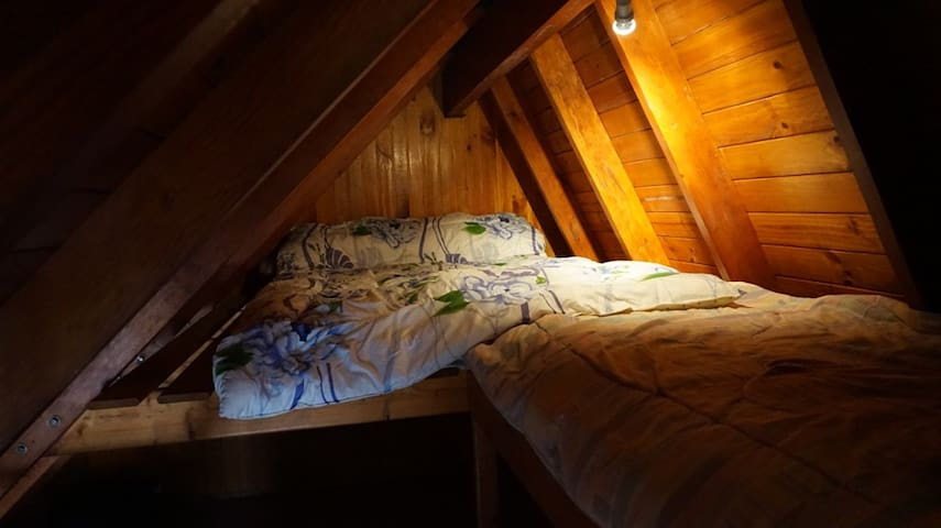 dormitorio calentito para 3