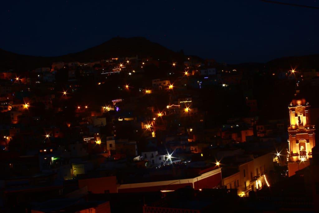 Vista panoramica desde la casa
