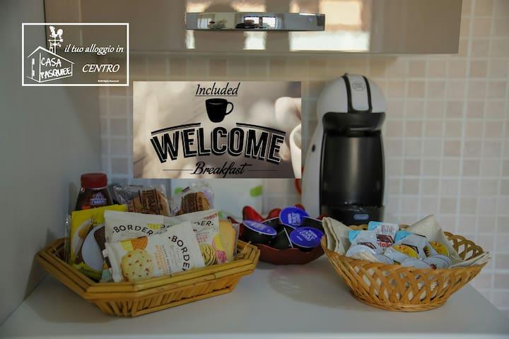 La nostra colazione di benvenuto