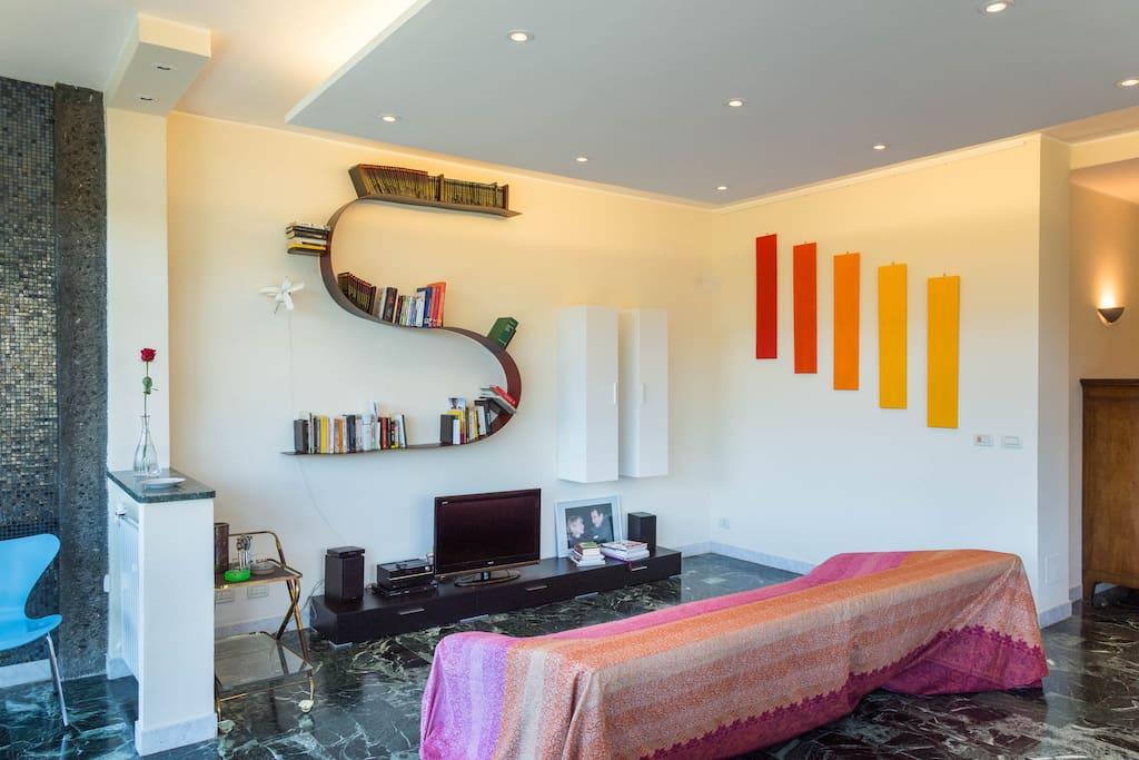 Salone / Wohnbereich / Living area
