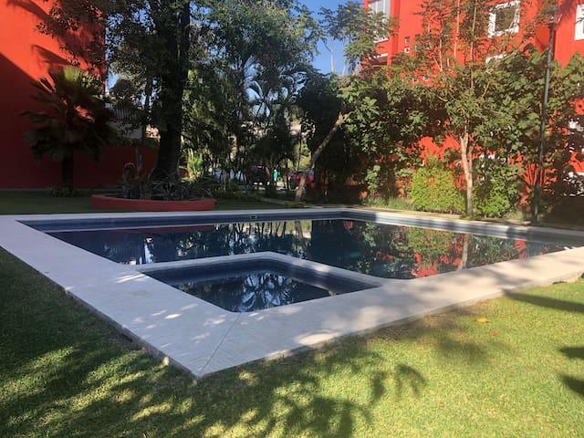 Acogedor departamento en el centro de Cuernavaca