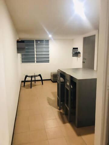 Departamento cómodo, céntrico y de fácil acceso