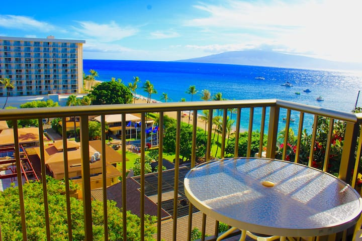 The Whaler - 10th Floor Oceanview Studio - Lahaina - Byt