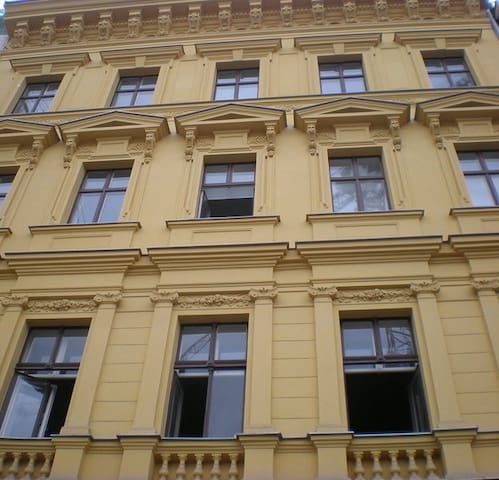 Vladislav Attic Duplex Prague apartment - Building