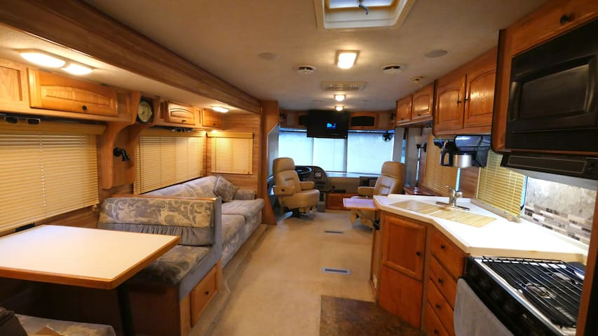Country Cabin in a Motorhome, where you want it