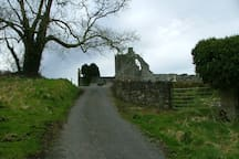 Walk to local Abbey from village