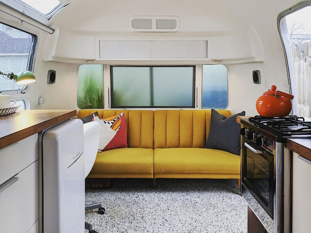 The Airmadillo: Vintage Airstream, Central Houston