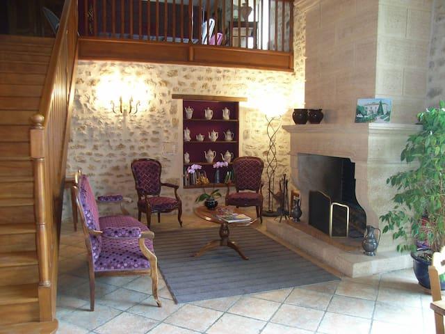 Chambre d'hôtes la Templerie / SAPHIR