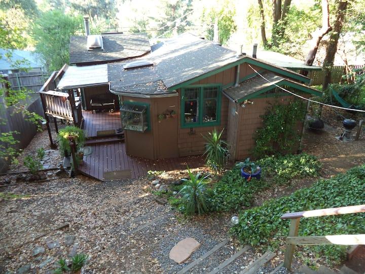 Unique rustic cabin