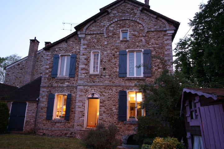 Maison en pierre avec du charme idéale famille