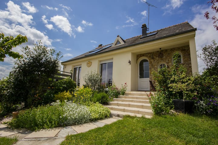 House in Brittany near Rennes & Brocéliande forest - Baulon - Talo