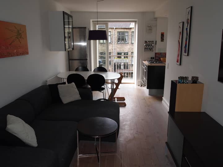 Lækker lejlighed på Indre Nørrebro