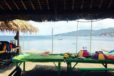 Private Beach Camp at Anilao,Batangas - Hut