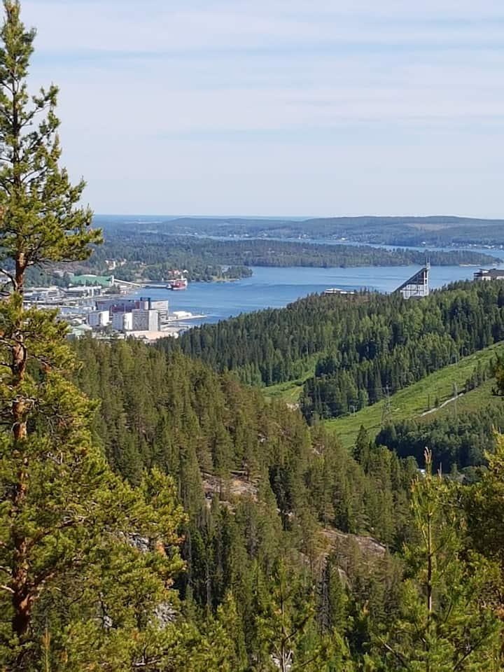 Lägenhet i vackra Högakusten, Örnsköldsvik Sweden