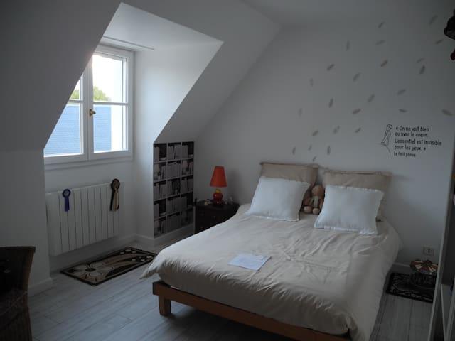 Chambre Beige - L'Étang-la-Ville - Pousada