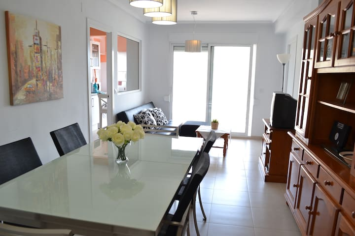 Golf course and beach flat+wifi     - Valencia - Huoneisto