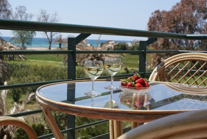HOUSE FIRST SEA 2 FLOORS WITH AMAZING VIEWS - Νέα Μουδανιά - Huis