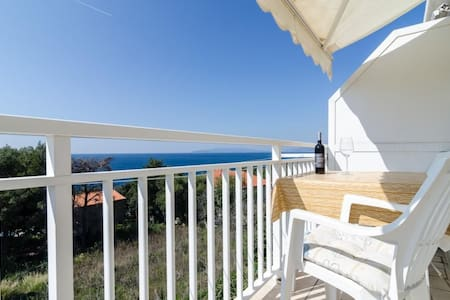 Apartments Villa Ana Dingač - One Bedroom Apartment with Balcony and Sea View (Apartment 3)