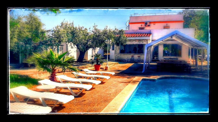 Mansion Ibiza events, pool up to 20 people.