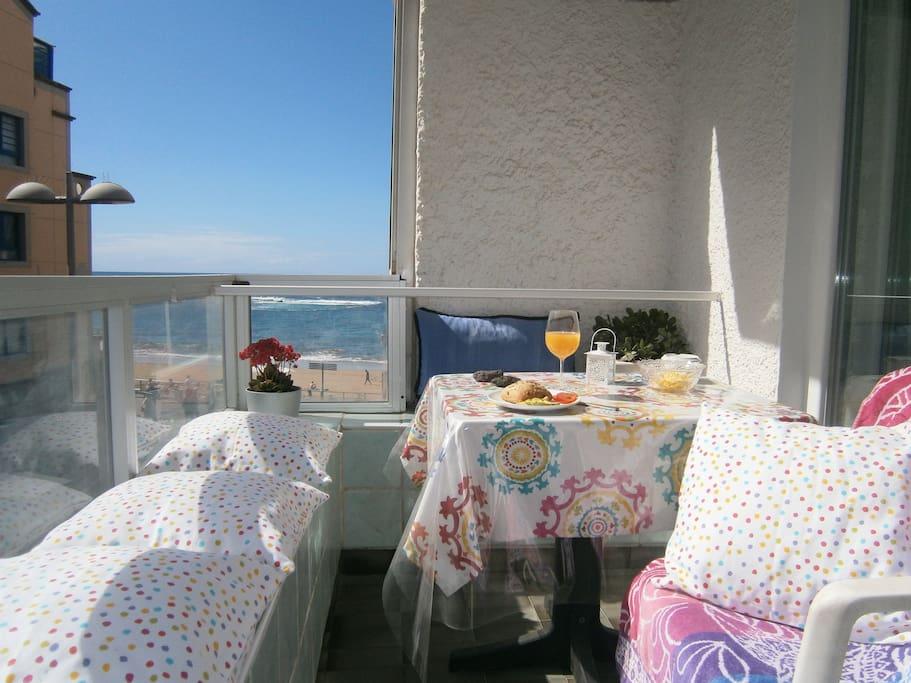 Apartamento estudio mandalas en la playa apartamentos - Estudios en las palmas de gran canaria ...