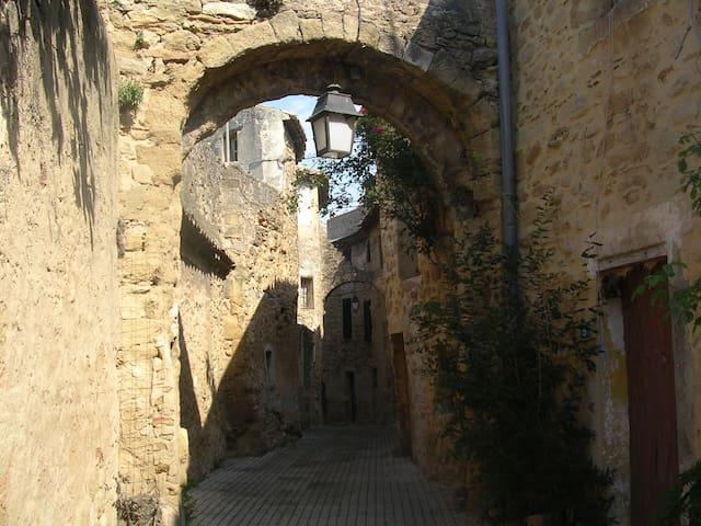 MAISON INDIVIDUELLE DANS VILLAGE - Sérignan-du-Comtat - Huis
