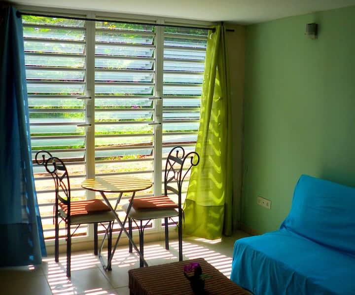 cadre champêtre à la Martinique